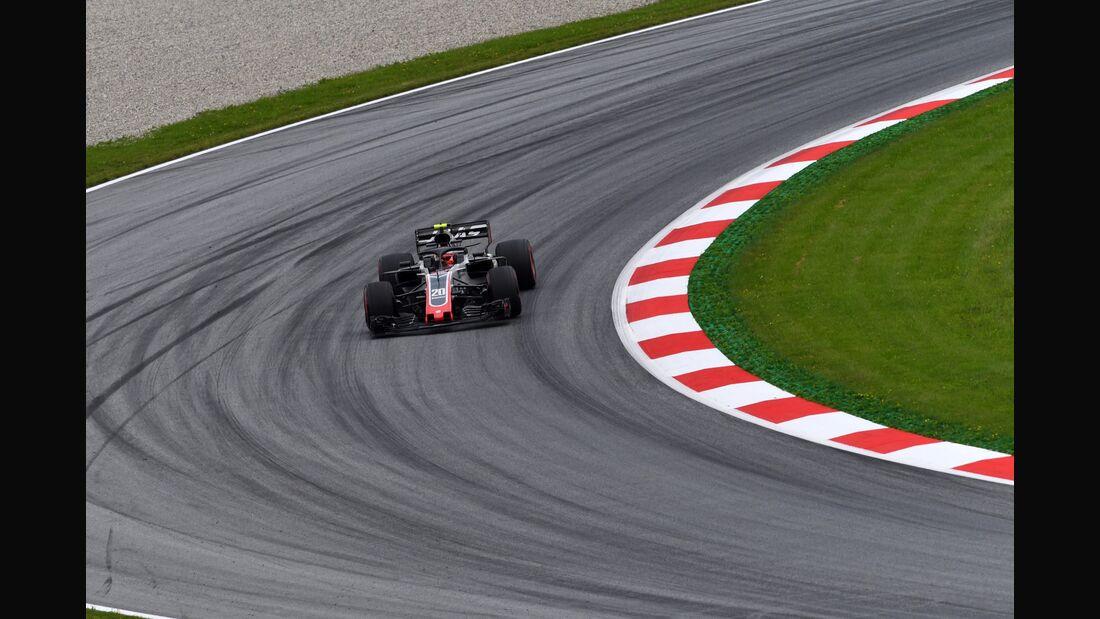 Kevin Magnussen - Haas F1 - Formel 1 - GP Österreich - 29. Juni 2018