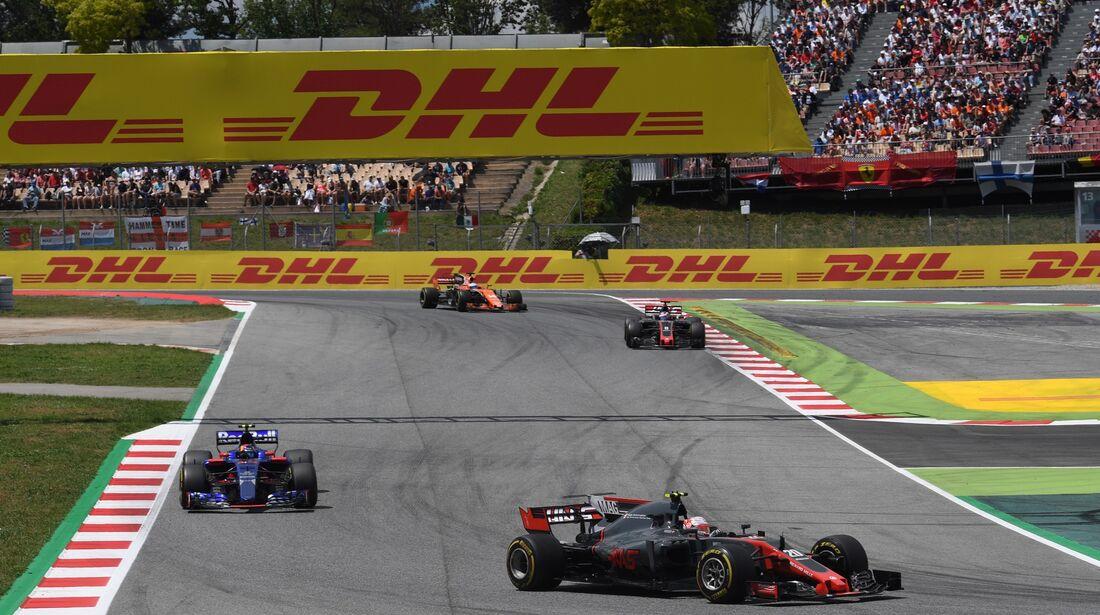 Kevin Magnussen - Haas F1 - Formel 1 - GP Spanien - 14. Mai 2017