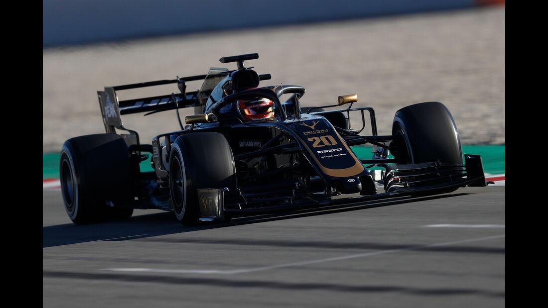Kevin Magnussen - Haas - F1-Test - 26. Februar 2019