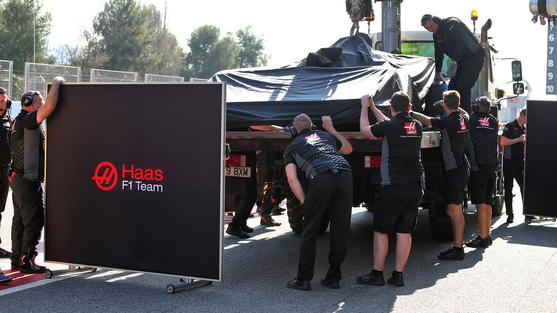 Kevin Magnussen - Haas - F1-Test - Barcelona - 21. Februar 2020