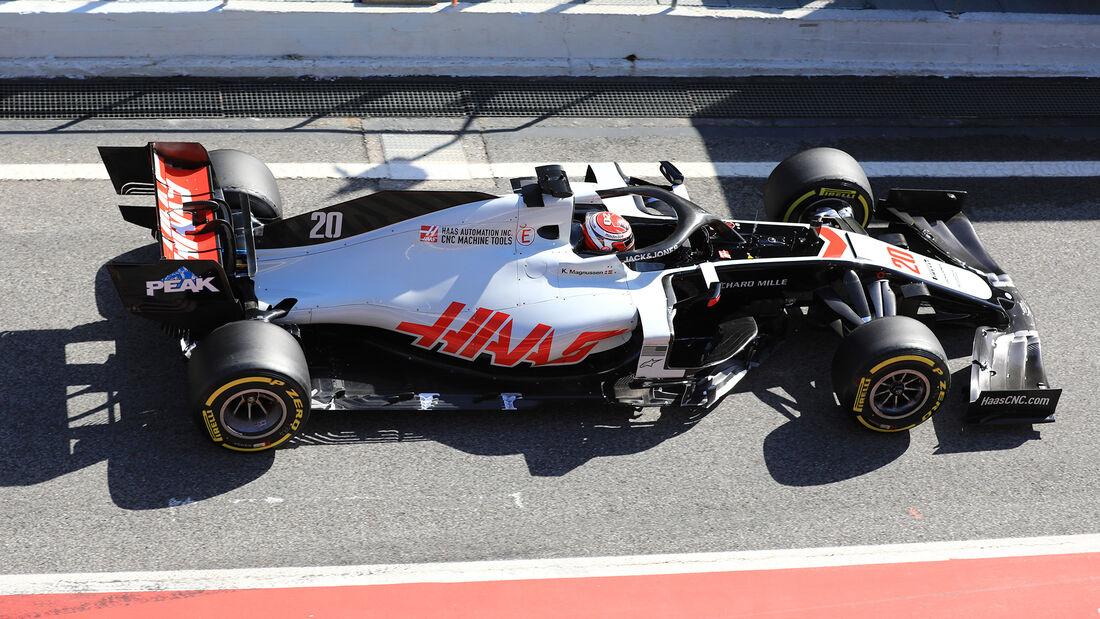 Kevin Magnussen - Haas - F1-Test - Barcelona - 27. Februar 2020