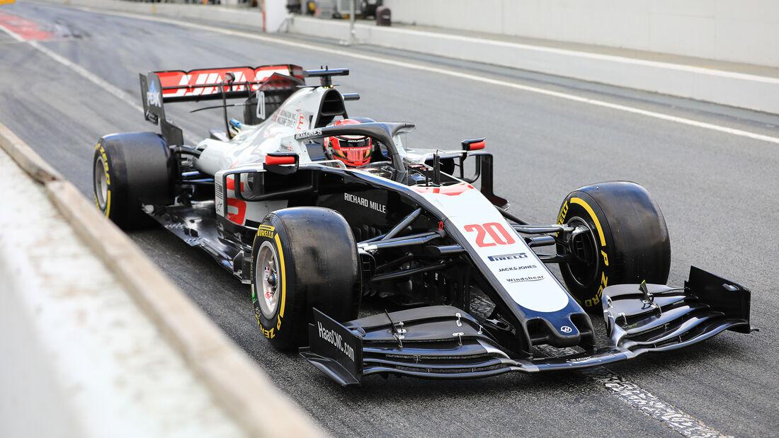Kevin Magnussen - Haas - F1-Test - Barcelona - 28. Februar 2020
