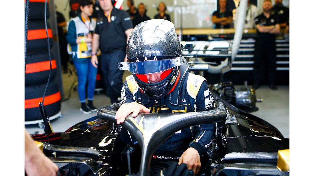 Kevin Magnussen - Haas - Formel 1 - GP Aserbaidschan - Baku - 26. April 2019