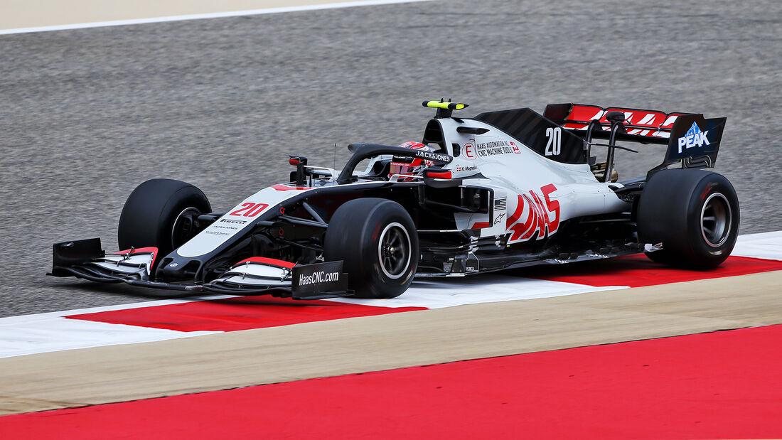 Kevin Magnussen - Haas - Formel 1 - GP Bahrain- Sakhir - Freitag - 27.11.2020