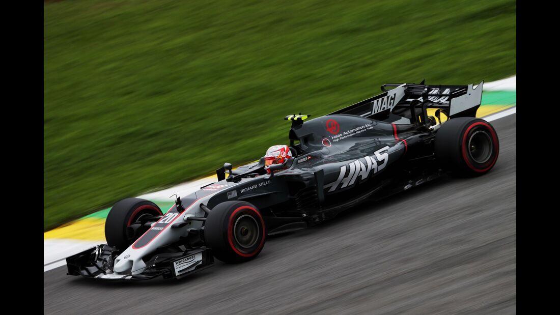 Kevin Magnussen - Haas - Formel 1 - GP Brasilien - 11. November 2017