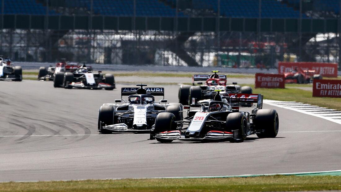 Kevin Magnussen - Haas - GP 70 Jahre F1 - Silverstone