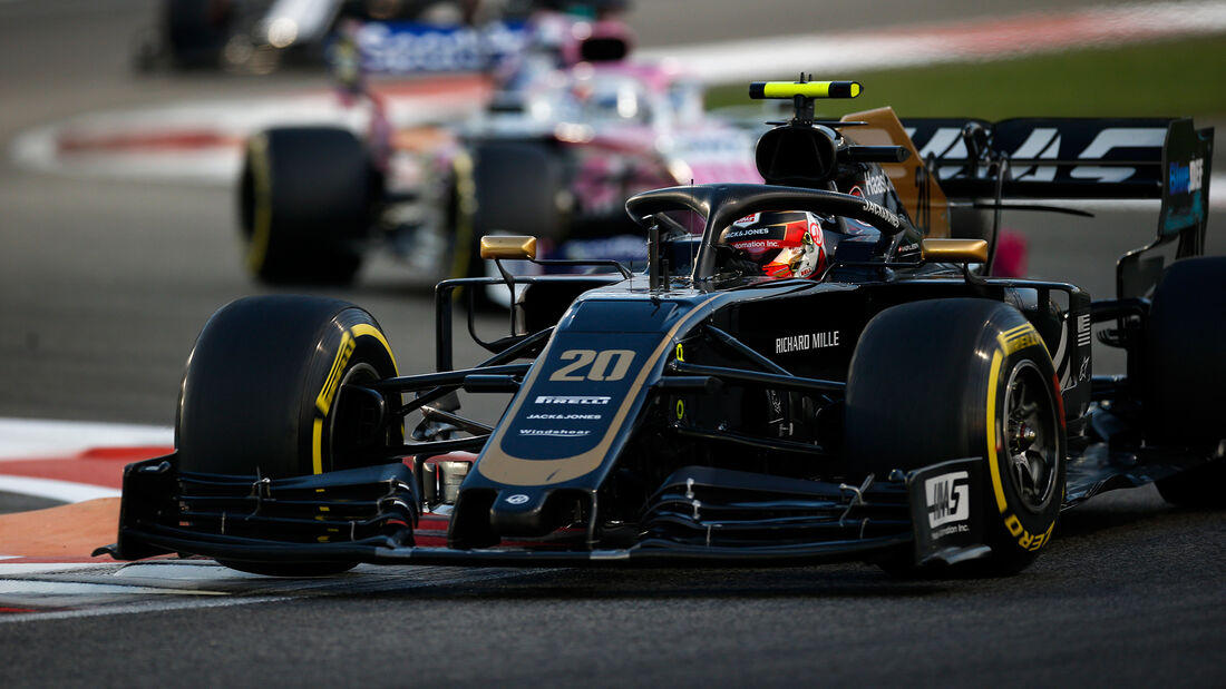 Kevin Magnussen - Haas - GP Abu Dhabi 2019 - Rennen