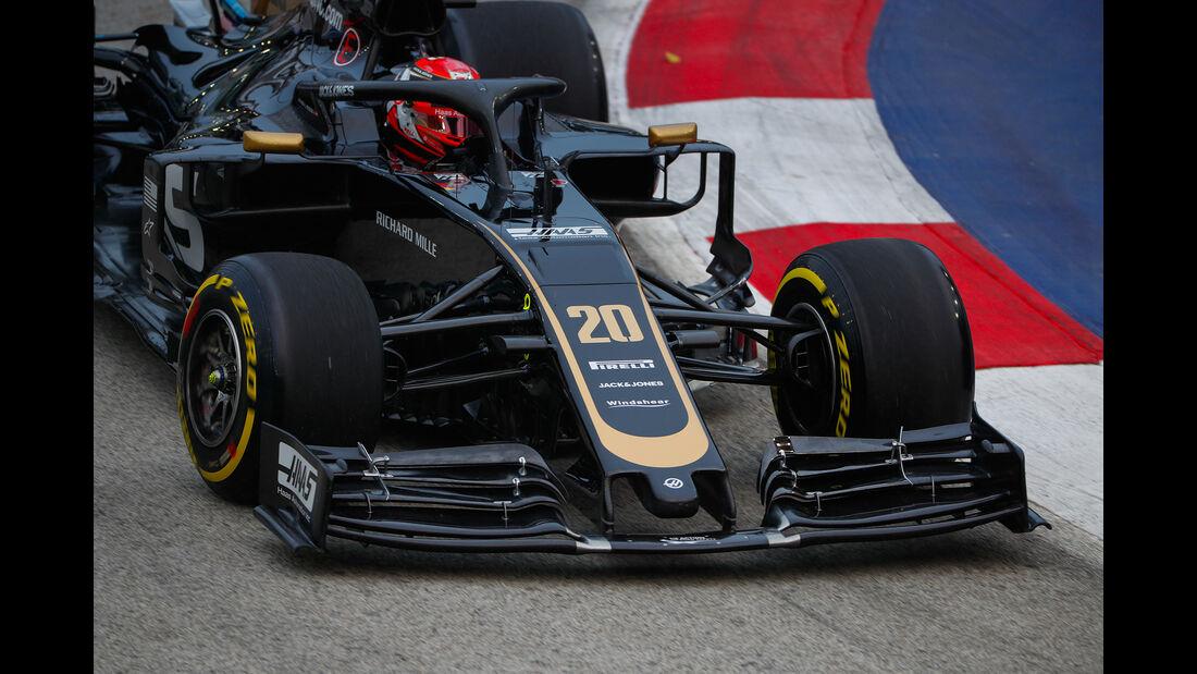 Kevin Magnussen - Haas - GP Singapur - Formel 1 - Freitag - 20.9.2019