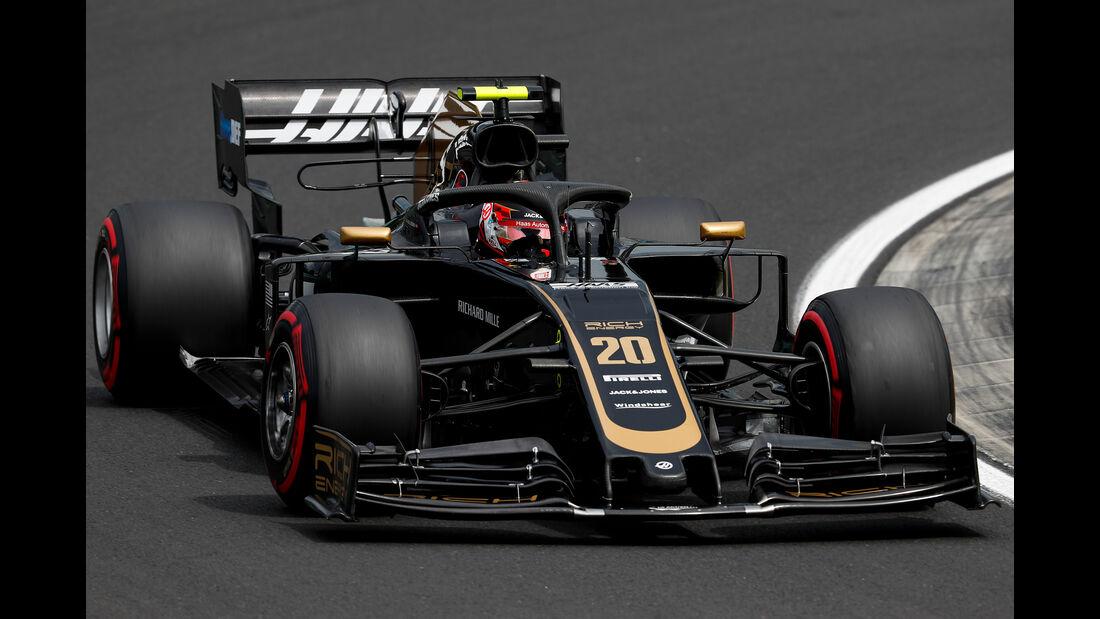 Kevin Magnussen - Haas - GP Ungarn - Budapest - Formel 1 - Freitag - 2.8.2019