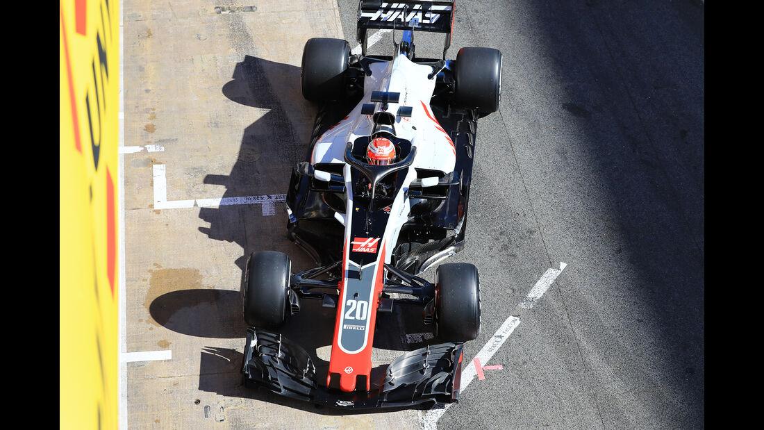 Kevin Magnussen - HaasF1 - F1-Test - Barcelona - Tag 5 - 6. März 2018