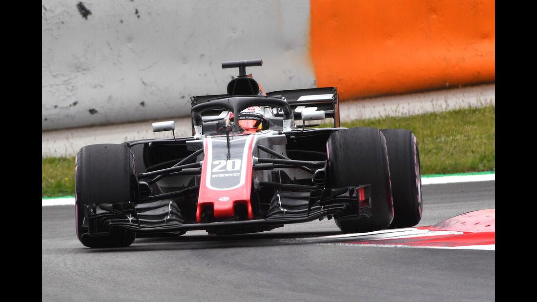 Kevin Magnussen - HaasF1 - F1-Test - GP Spanien - Barcelona - Tag 2 - 16. Mai 2018
