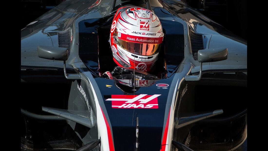 Kevin Magnussen - HaasF1 - Formel 1 - Abu Dhabi - Test 2 - 29. November 2017