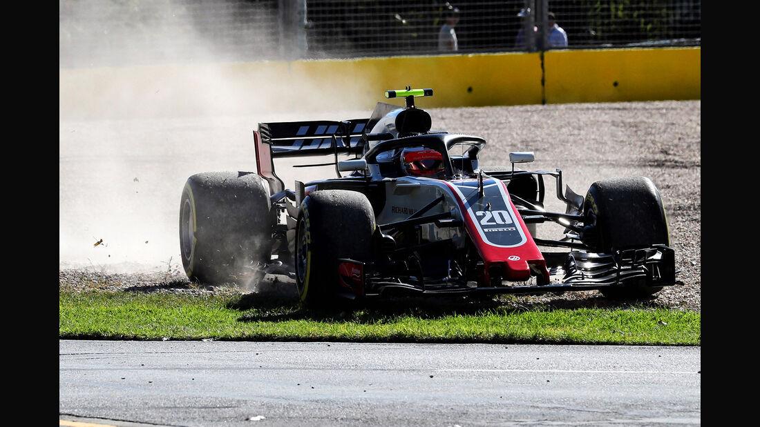 Kevin Magnussen - HaasF1 - Formel 1 - GP Australien - Melbourne - 23. März 2018