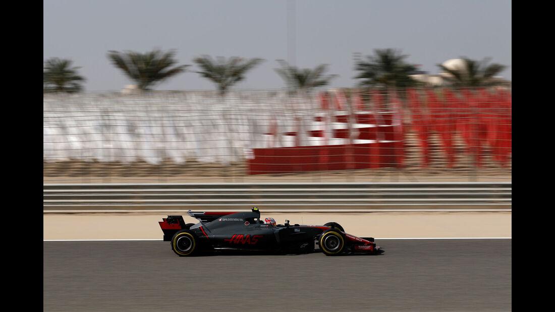 Kevin Magnussen - HaasF1 - Formel 1 - GP Bahrain - Sakhir - Training - Freitag - 14.4.2017