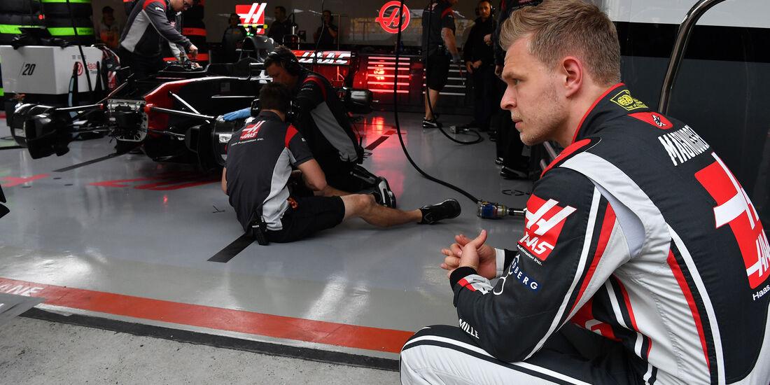 Kevin Magnussen - HaasF1 - Formel 1 - GP China - Shanghai - Freitag - 7.4.2017