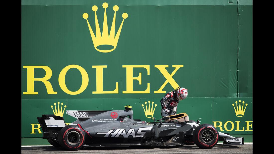 Kevin Magnussen - HaasF1 - Formel 1 - GP Italien - Monza - 1. September 2017
