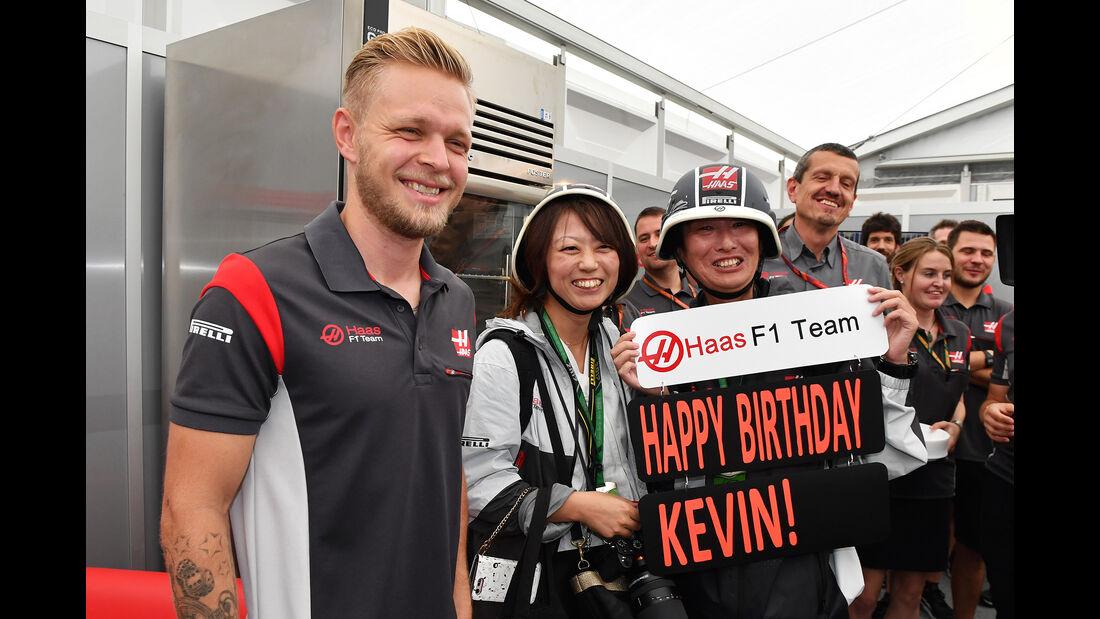 Kevin Magnussen - HaasF1 - Formel 1 - GP Japan - Suzuka - 5. Oktober 2017