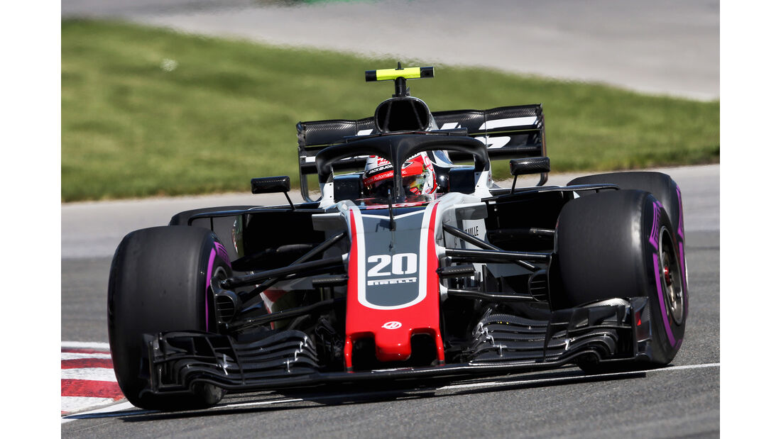 Kevin Magnussen - HaasF1 - Formel 1 - GP Kanada - Montreal - 8. Juni 2018