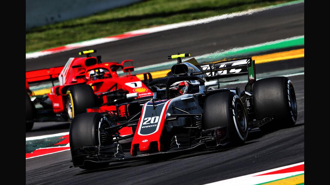 Kevin Magnussen - HaasF1 - Formel 1 - GP Spanien - Barcelona - 11. Mai 2018