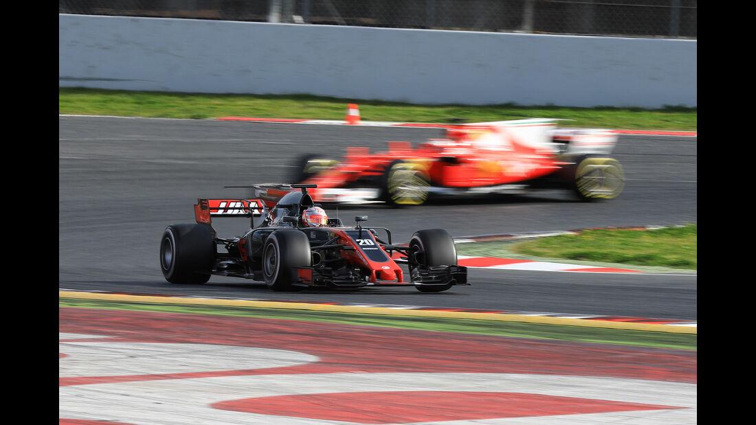 Kevin Magnussen - HaasF1 - Formel 1 - Test - Barcelona - 28. Februar 2017