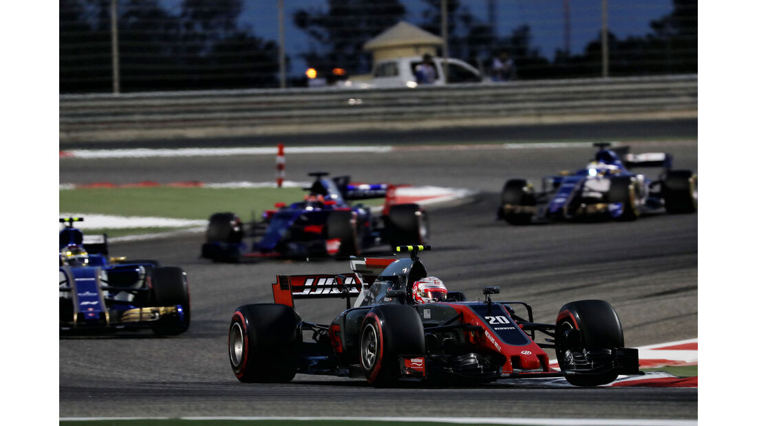 Kevin Magnussen - HaasF1 - GP Bahrain 2017