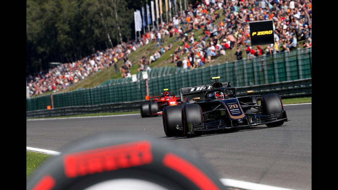 Kevin Magnussen - HaasF1 - GP Belgien - Spa-Francorchamps - Formel 1 - Freitag - 30.8.2019