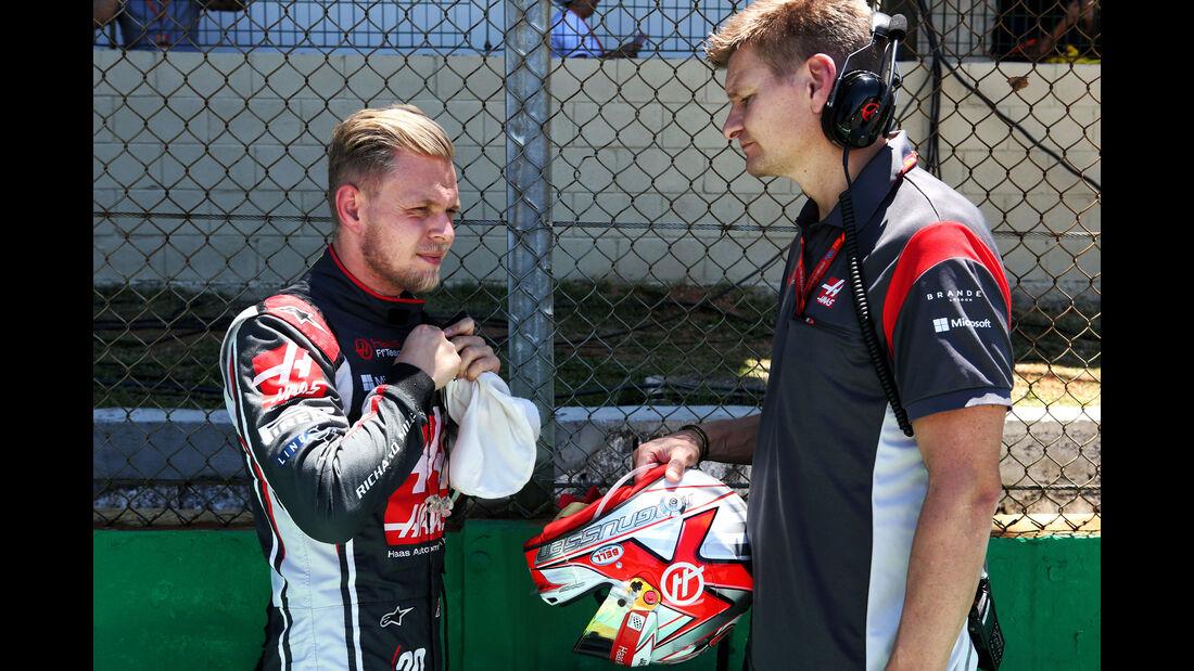 Kevin Magnussen - HaasF1 - GP Brasilien 2017