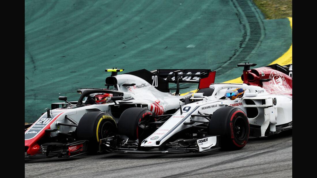 Kevin Magnussen - HaasF1 - GP Brasilien 2018 - Rennen