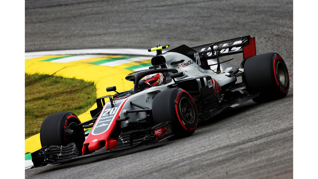 Kevin Magnussen - HaasF1 - GP Brasilien - Interlagos - Formel 1 - Freitag - 9.11.2018