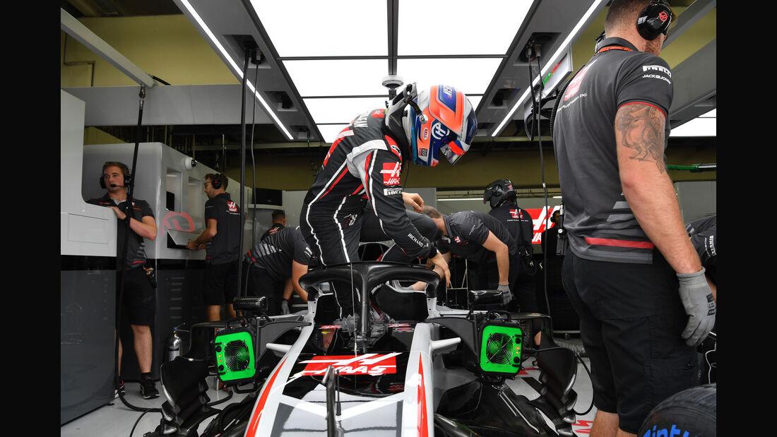 Kevin Magnussen - HaasF1 - GP Brasilien - Interlagos - Formel 1 - Samstag - 10.11.2018