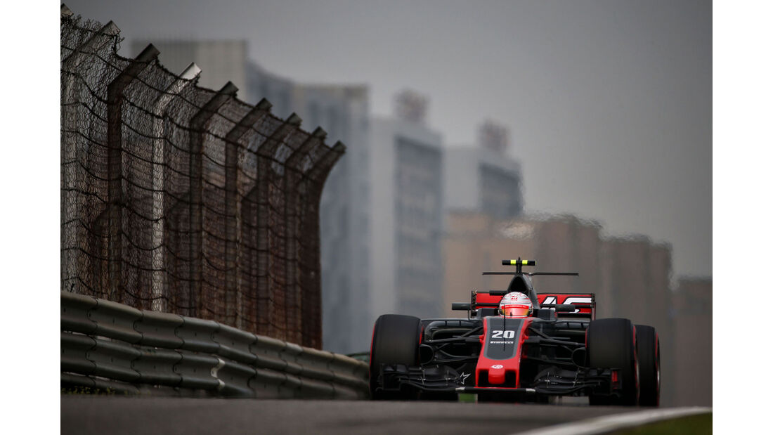 Kevin Magnussen - HaasF1 - GP China 2017 - Qualifying - 8.4.2017
