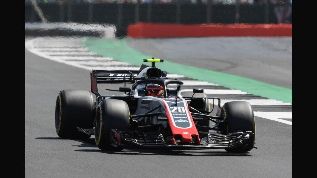 Kevin Magnussen - HaasF1 -GP England - Silverstone - Formel 1 - Samstag - 7.7.2018