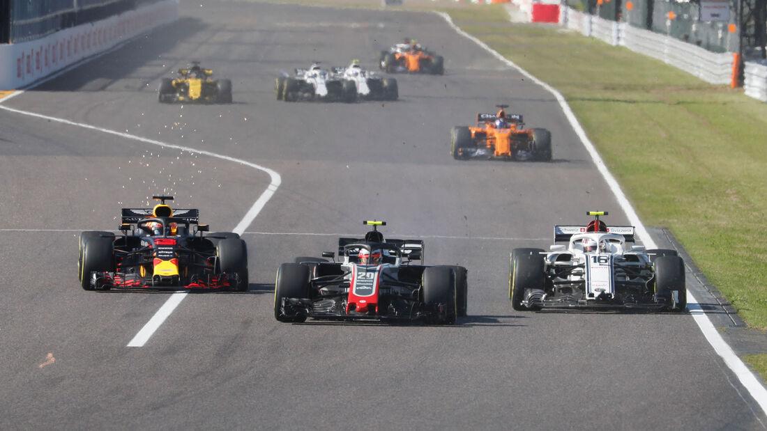 Kevin Magnussen - HaasF1 - GP Japan 2018 - Suzuka - Rennen