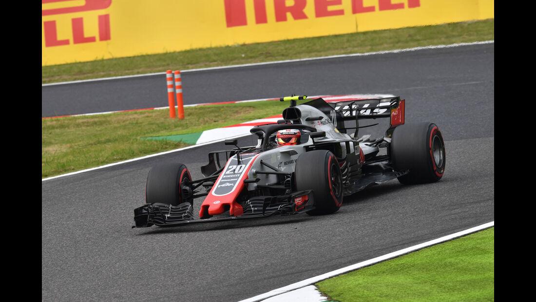 Kevin Magnussen - HaasF1 - GP Japan - Suzuka - Formel 1 - Freitag - 5.10.2018