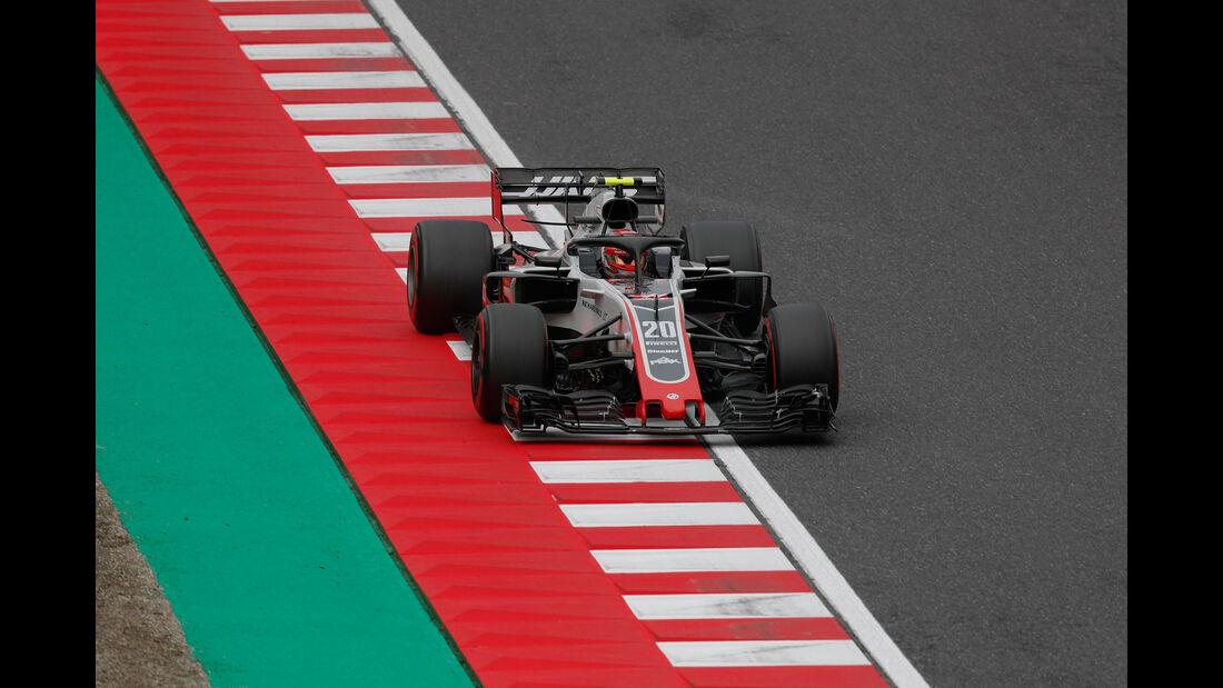 Kevin Magnussen - HaasF1 - GP Japan - Suzuka - Formel 1 - Samstag - 6.10.2018