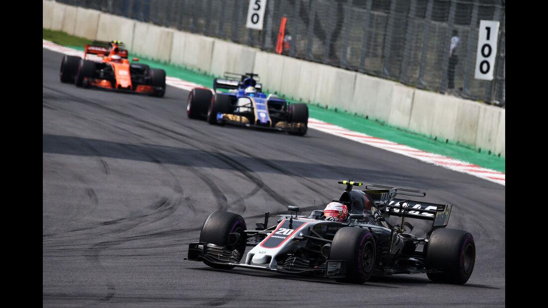 Kevin Magnussen - HaasF1 - GP Mexiko 2017 - Rennen