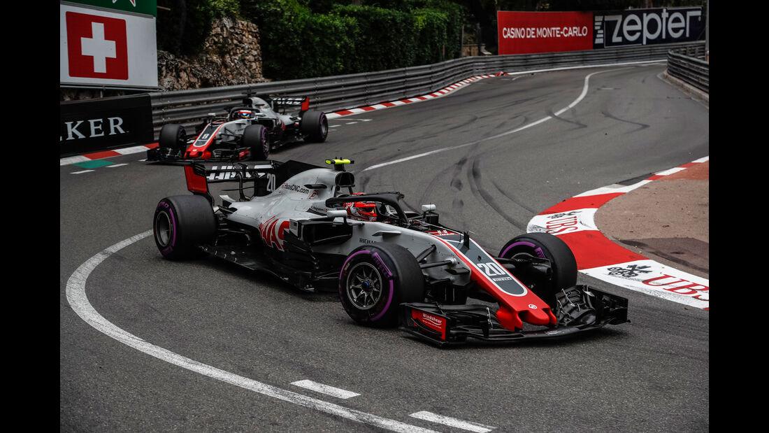 Kevin Magnussen - HaasF1 - GP Monaco 2018 - Rennen