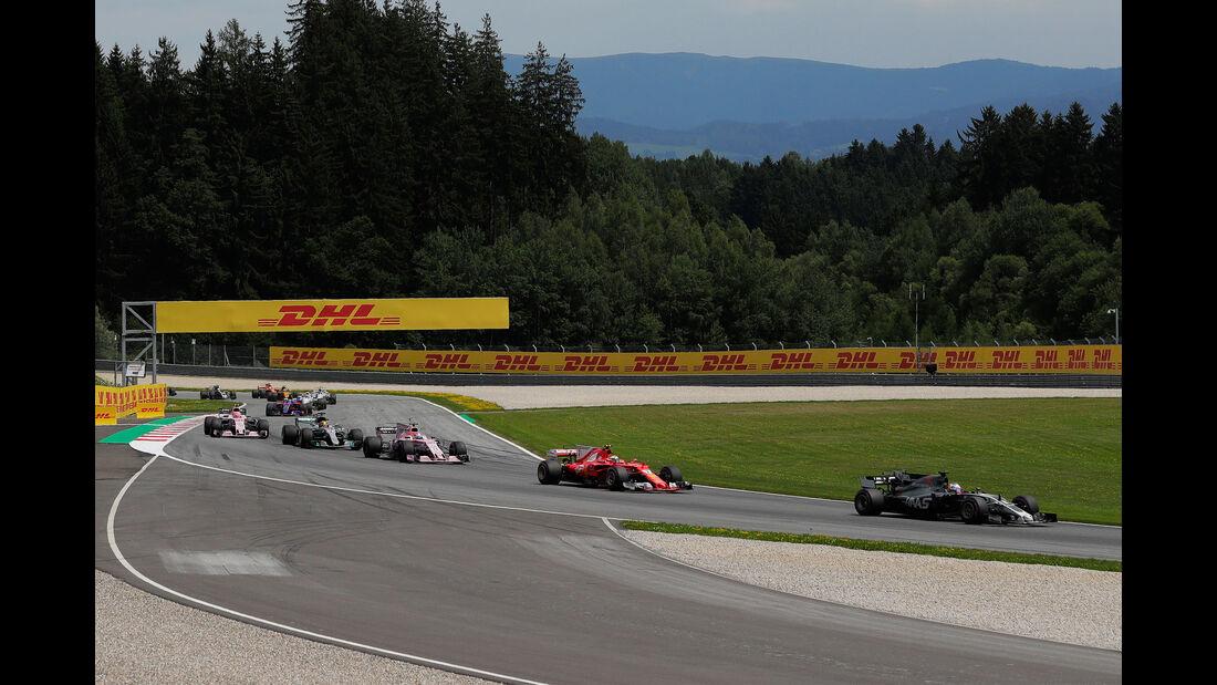 Kevin Magnussen - HaasF1 - GP Österreich 2017 - Spielberg - Rennen
