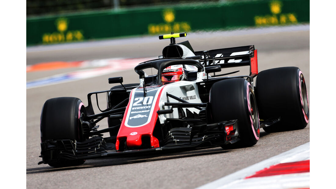Kevin Magnussen - HaasF1 - GP Russland - Sotschi - Formel 1 - Freitag - 28.9.2018