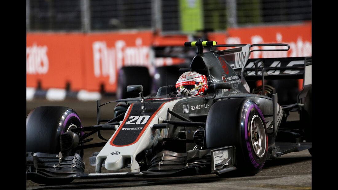 Kevin Magnussen - HaasF1 - GP Singapur 2017 - Rennen