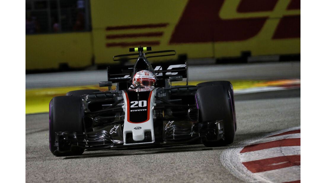 Kevin Magnussen - HaasF1 - GP Singapur - Formel 1 - Freitag - 15.9.2017