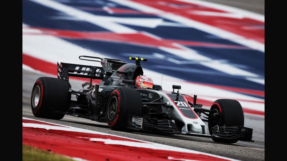 Kevin Magnussen - HaasF1 - GP USA - Austin - Formel 1 - Freitag - 20.10.2017