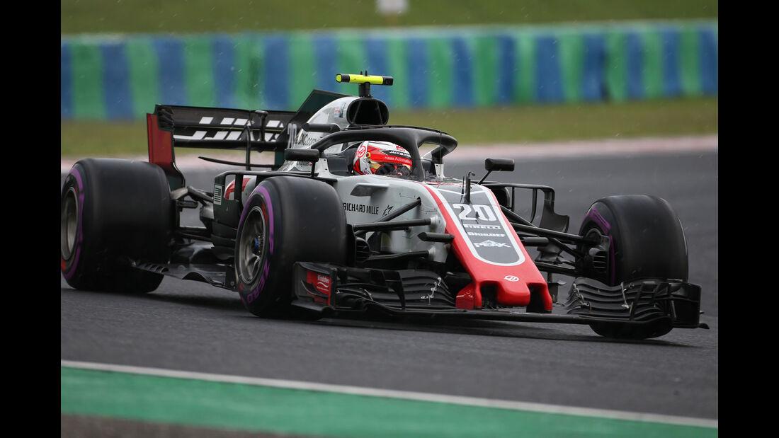Kevin Magnussen - HaasF1 - GP Ungarn 2018 - Qualifying