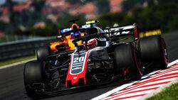 Kevin Magnussen - HaasF1 - GP Ungarn - Budapest - Formel 1 - 27.7.2018