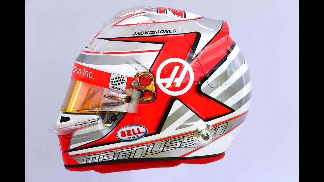 Kevin Magnussen - Helm - Formel 1 - 2017