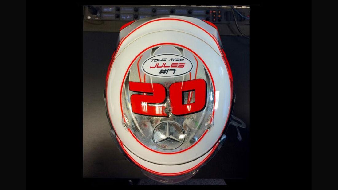 Kevin Magnussen - Jules Bianchi-Tribute - GP Russland 2014