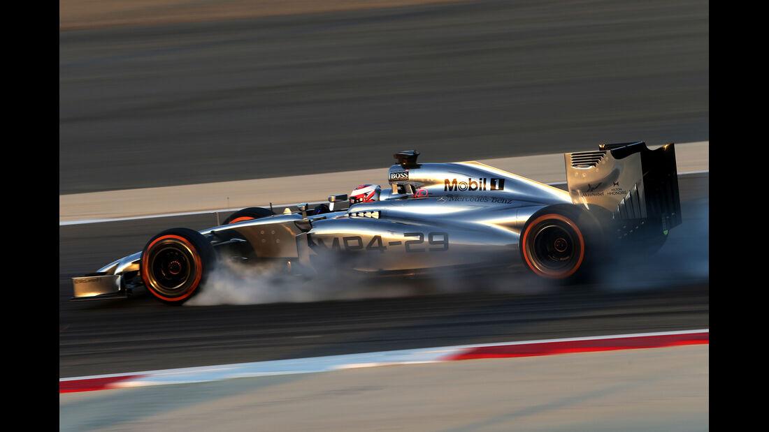 Kevin Magnussen - McLaren - Bahrain - Formel 1 Test - 2014
