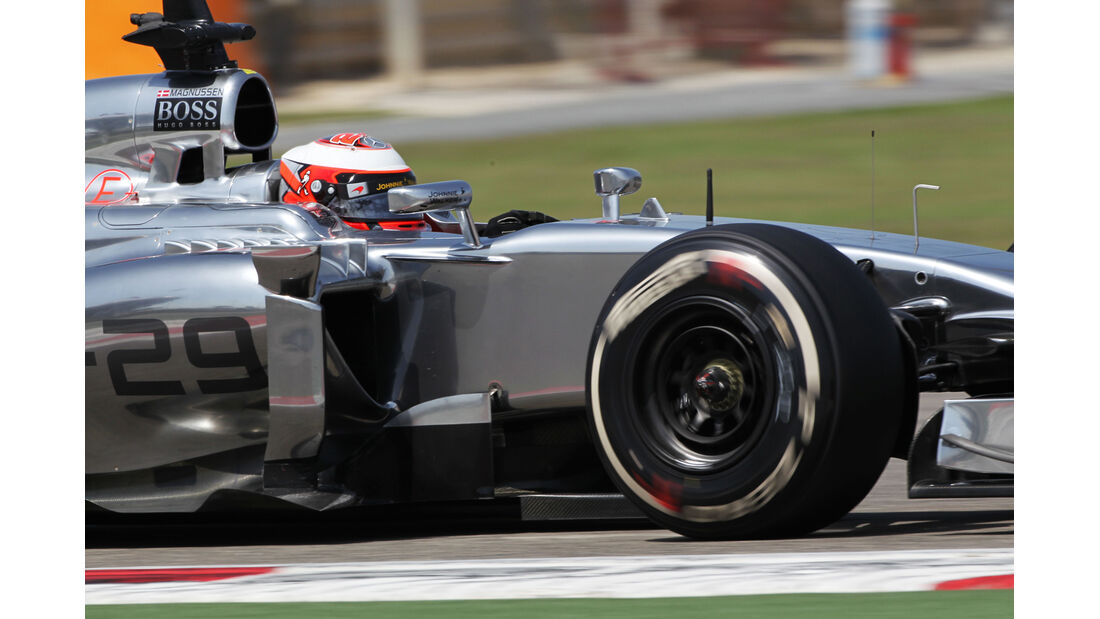 Kevin Magnussen - McLaren - Formel 1 - Bahrain - Test - 1. März 2014