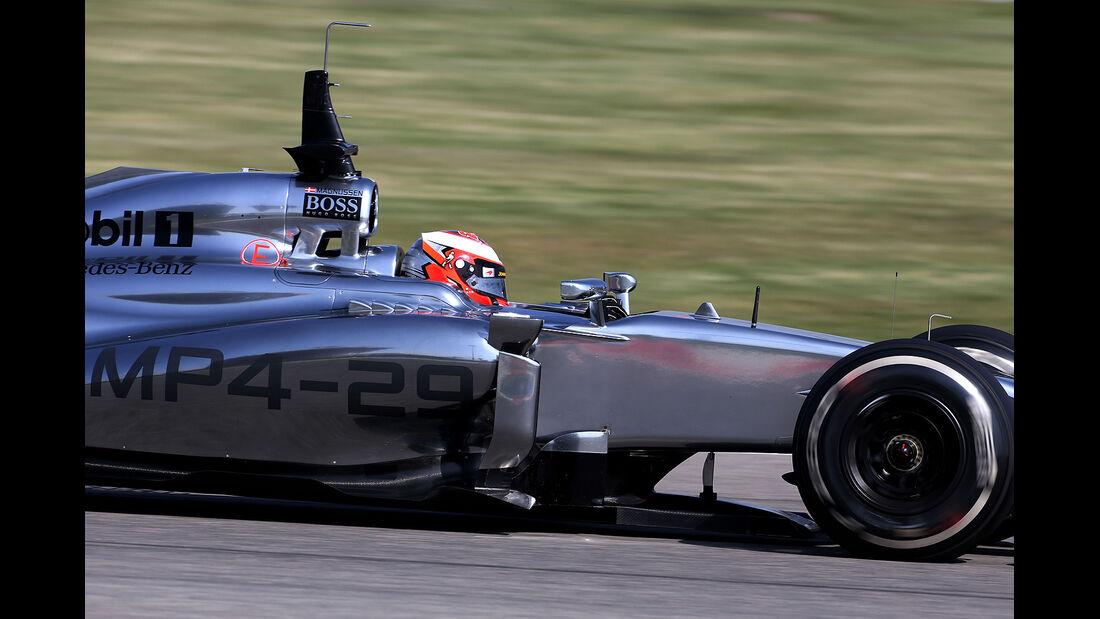 Kevin Magnussen - McLaren - Formel 1 - Bahrain - Test - 20. Februar 2014