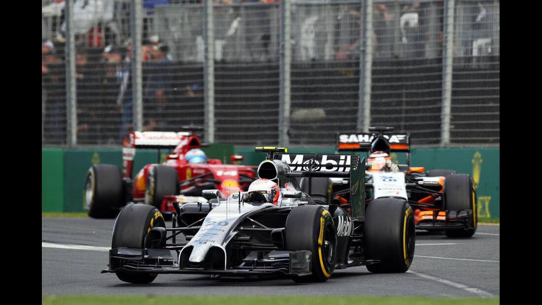 Kevin Magnussen - McLaren - Formel 1 - GP Australien - 16. März 2014
